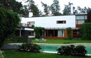 Architect's wood house